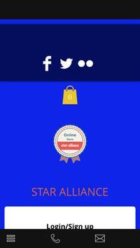 star alliance store poster