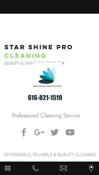 Star Shine Pro Cleaning poster
