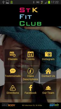 St K Fit Club poster