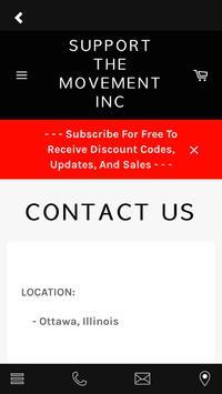 Support The Movement Inc screenshot 4