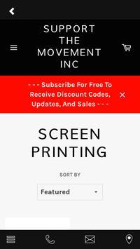 Support The Movement Inc screenshot 2