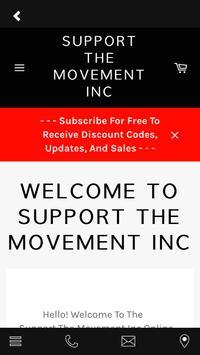 Support The Movement Inc screenshot 3