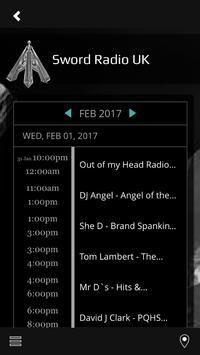 Sword Radio UK apk screenshot