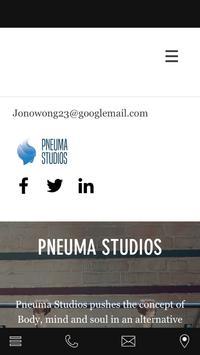 Pneuma Studios poster