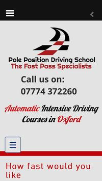 Pole Position Driving School poster