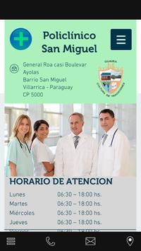 POLICLINICO SAN MIGUEL poster