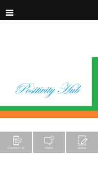 Positivity Hub poster