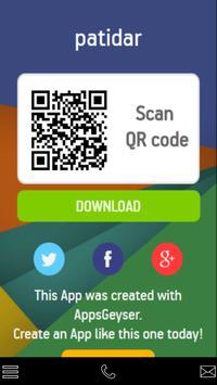 Patidar web browser poster