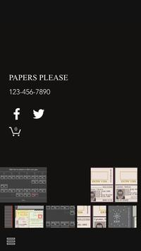 Papers Please poster