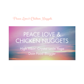 Peace Love and Chicken Nuggets icon
