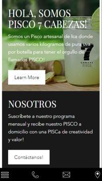 Pisco7cabezas poster