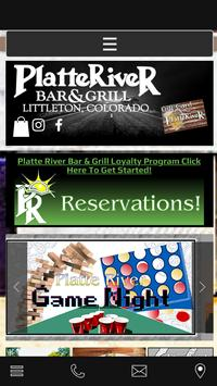 Platte River Bar And Grill poster