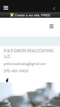 PRDixonSealcoating screenshot 2