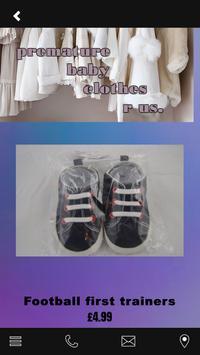 premature baby clothes r us apk screenshot