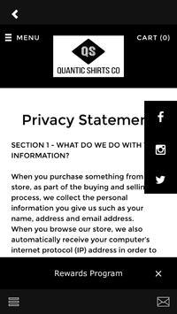 Quantic Shirts Co apk screenshot