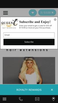 Queen C Hair Extensions poster