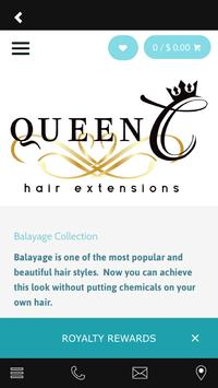 Queen C Hair Extensions screenshot 1