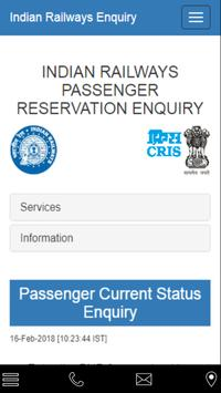 Quick PNR Status poster