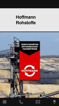 Rohstoffe Hoffmann poster