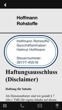 Rohstoffe Hoffmann apk screenshot