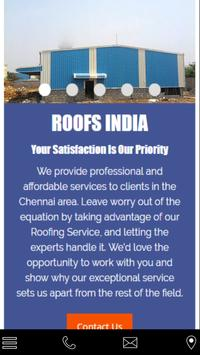 Roofing Contractor chennai poster