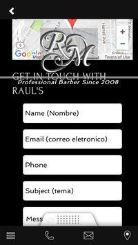 RAUL THE BARBER apk screenshot