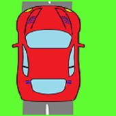 Racer boy icon