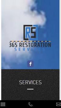 365 Restoration Services poster