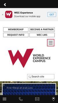WORLD EXPERIENCE CAMPUS screenshot 1