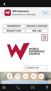 WORLD EXPERIENCE CAMPUS screenshot 3