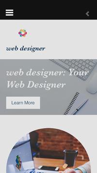 Web Designer poster