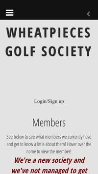 Wheatpieces Golf Society apk screenshot