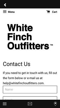 White Finch Outfitters screenshot 3