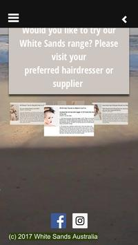 White Sands Hair Products poster
