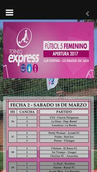 Torneo Femenino Sporting screenshot 2