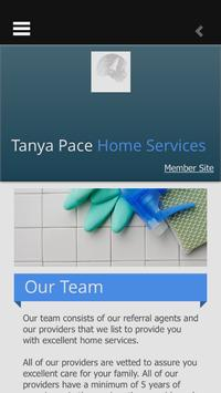 Tanya Pace Home Services poster