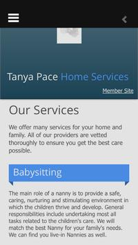 Tanya Pace Home Services screenshot 1