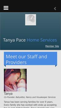 Tanya Pace Home Services screenshot 2