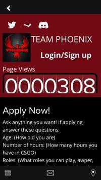 Team PhoeniX eSports apk screenshot