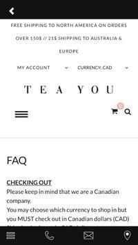 TEAYOU apk screenshot