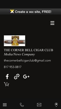 The Corner Bell Cigar Club poster