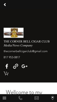 The Corner Bell Cigar Club apk screenshot
