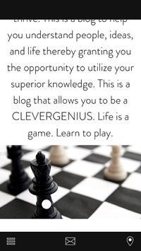 THECLEVERGENIUS poster