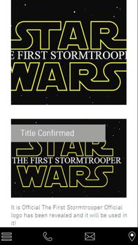 The First Stormtrooper poster