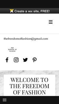 The Freedom of Fashion apk screenshot