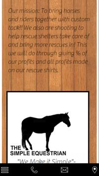 The Simple Equestrian poster