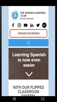 The Spanish Learning Club poster