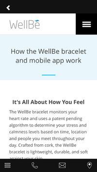 The WellBe Storefront apk screenshot