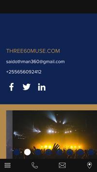 three60 muse poster