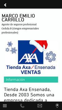 Tienda Axa Seguros Ensenada screenshot 2